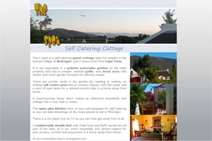 Guesthouse in McGregor, Western Cape