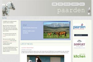 Paarden Stud, Atelier, Accommodation and Saturday Kitchen